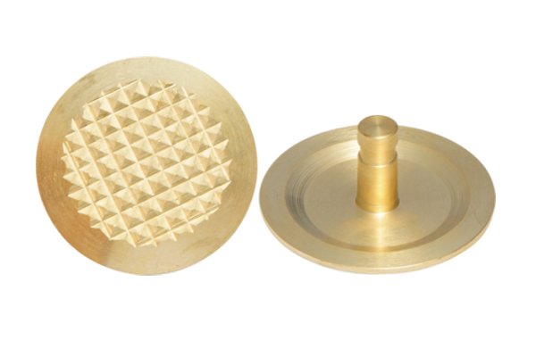 Diamond Brass Tactile Studs