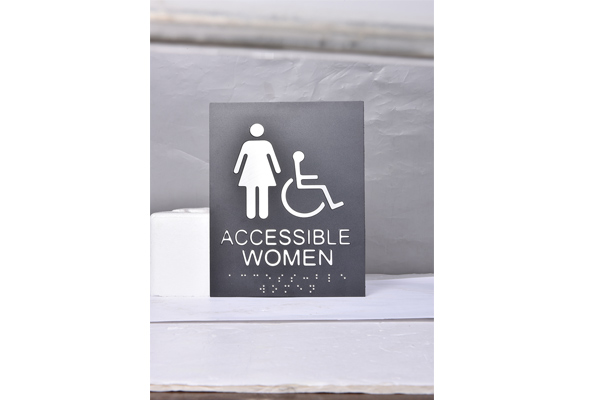 Alu Braille Signs