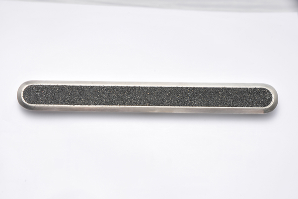 Carborundum Insert Stainless Steel Tactile Bar