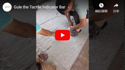 Gule the Tactile Indicator Bar